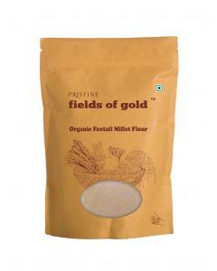 Pristine Fields of Gold Organic Foxtail Millet Flour-500gm