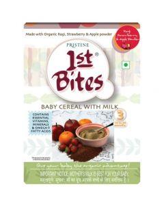 Pristine 1st Bites – Ragi, Strawberry & Apple Powder (10 Months – 24 Months) Stage – 3, 300g