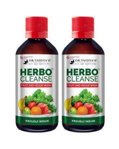 Dr. Vaidya Herbo Cleanse Fruit and Veggie Wash -200ml