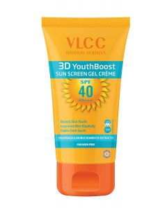 3D  Youthboost Sun Screen Gel Cream Spf40 P+++-100gm