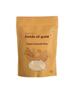 Pristine Organics Fields of Gold Organic Amaranth Flour-500gm