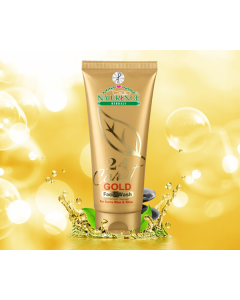 Naturence Herbals 24 Carat Gold Face Wash-72 ml