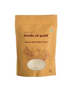 Pristine Organics Fields of Gold Organic Mixed Millet Flour-1kg