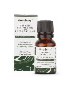 Greenberry Organic Tea Tree Oil - 15 ML
