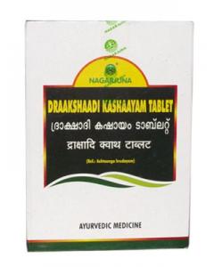 Nagarjuna Draakshaadi Kashaayam Tablets-100 Tablets