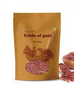 Pristine Organics Fields of Gold Red Rice-1kg