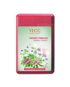 Vlcc Pocket Parfum Herbal Forest-22ml Pack of 3pc