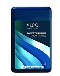 Vlcc Pocket Perfum Musky Nuturel-22ml pack of 3pc