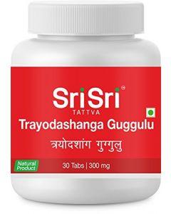 Sri Sri Tattva Trayodashanga Guggulu 300Mg Tablet -30tab