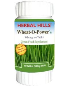 Herbal Hills Wheat-O-Power tabs-60tabs