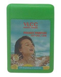 Vlcc Pocket Perfum Nutrel Lime-22ml Pack of 3pc