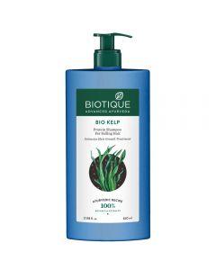 Biotique Bio Kelp Protein Shampoo For Falling Hair Intensive Hair Regrowth Treatment-650ml