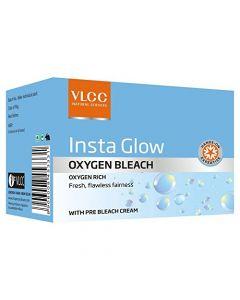 Vlcc Insta Glow Oxygen Bleach-51.4gm Pack of 2pc
