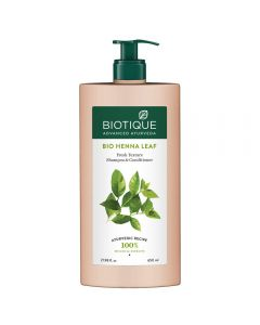 Biotique Bio Henna Leaf Fresh Texture Shampoo & Conditioner-650ml
