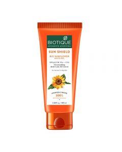 Biotique Sunflower Matte Gel Sunscreen Spf50, Orange-100ml