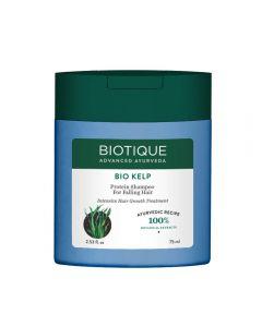 Biotique Bio Kelp Protein Shampoo for Falling Hair Intensive Hair Regrowth Treatment-75ml