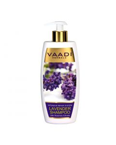 Vaadi Herbals LAVENDER SHAMPOO with Rosemary Extract-Intensive Repair System-350 ml