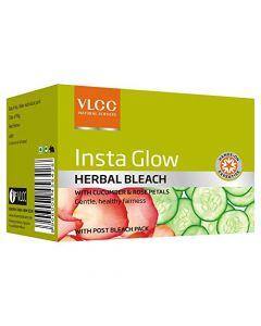 Vlcc Insta Glow Herbal Bleach-54gm Pack of 3pc
