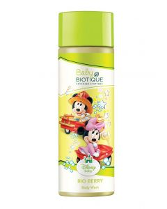 Biotique Bio Berry Baby Mickey Body Wash-190ml