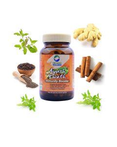 Organic Wellness Ayush Kwath 90 Capsules Bottle