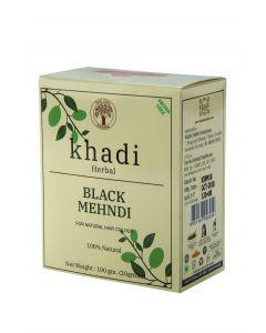 Khadi Shuddha Black Mehndi-100gm