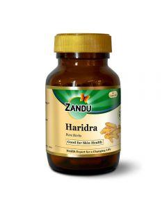 Zandu Single herbs Haridra (Turmeric)-60 Tablet