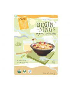 Pristine Organics  Beginnings Organic Corn Flakes-150gm
