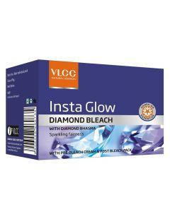 Vlcc Insta Glow Daimond Bleach-6.6gm pack of 6pc