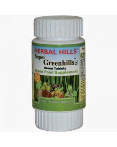 Herbal Hills Super Greenhills tabs-60tabs