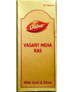 Dabur Vasant Meha Ras-30 Tabs