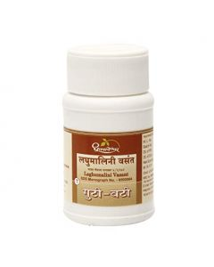 Dhootapapeshwar Laghumalini Vasant-60tablets