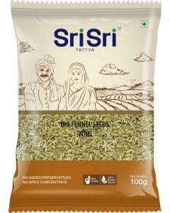 Sri Sri Big Fennel Seeds (Saunf)-100gm