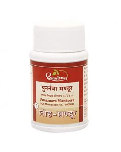 Dhootapapeshwar Purnarnava Mandoora-30tablets