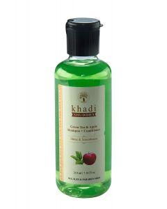 Khadi Shuddha Green Tea Apple Shampoo+Conditioner-210ml