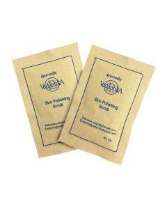 Vedatika Hearbals Ayurvedic Skin polishing Scrub-10gm