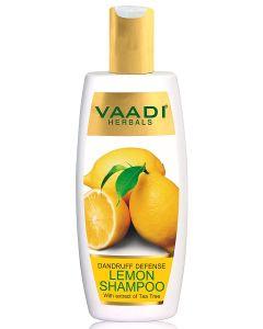 Vaadi Herbals Dandruff Defense LEMON SHAMPOO with extract of Tea Tree-110 ml