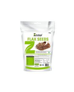 Zindagi Roasted Flax Seeds-400gm
