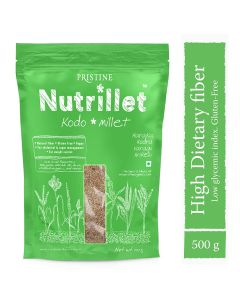 Pristine Nutrillet Kodo Millet-500gm Pack of 2pc
