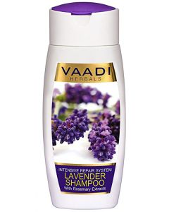 Vaadi Herbals LAVENDER SHAMPOO with Rosemary Extract-Intensive Repair System-110 ml