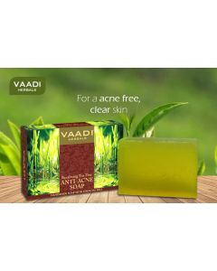Vaadi Herbals ANTI ACNE SOAP- Tea Tree extract-75 gms
