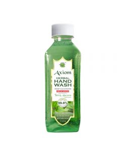 Axiom Herbal Hand Wash 1000ml enriched with Aloevera & Tulsi - 1000ml (Refill Pack)