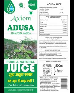 Axiom Adusa Juice-500ml
