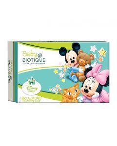 Biotique Almond Oil Body Cleanser-(Mickey Soap)-75g
