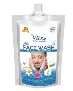 Vitro Natural Aloe Face Wash 150gm Refill Pack