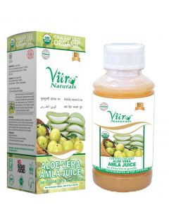 Vitro Naturals Certified Organic Aloe Vera Amla Juice 500 ml