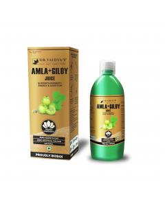 Dr. Vaidya's Amla and Giloy Juice - 1 Litre