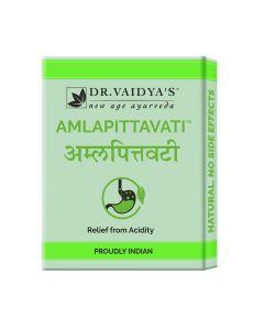 Dr. Vaidya's Amlapittavati Pills Pack of 3 - Hyperacidity-72 Pills