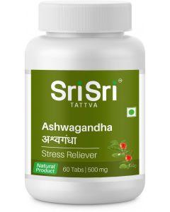 Sri Sri Tattva Ashwagandha 500Mg Tablet - 60 Count