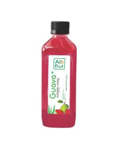 Axiom AloFrut Guava  Aloevera Juice -300ml Pack of 10pc