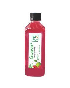 Axiom AloFrut Guava  Aloevera Juice -200ml Pack of 10pc